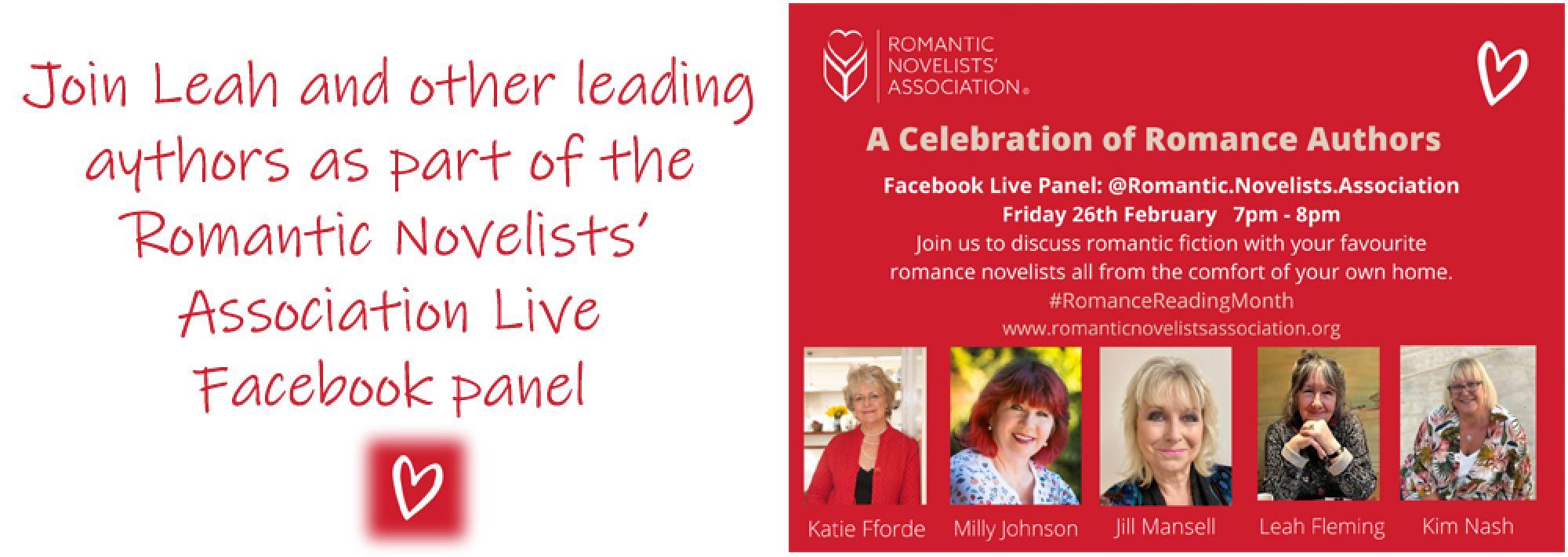 https://www.facebook.com/Romantic.Novelists.Association